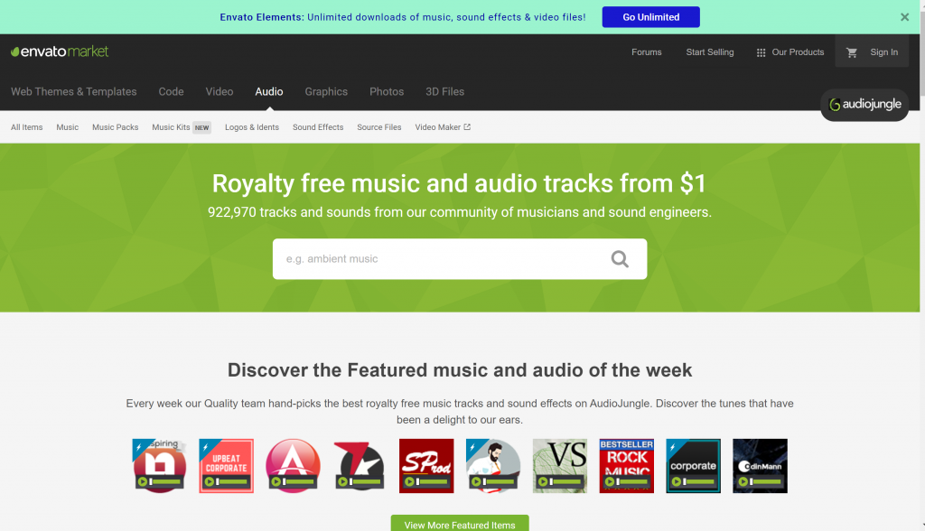 Royalty Free Music Audio from AudioJungle