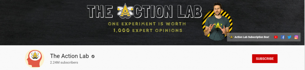 The Action Lab - YouTube