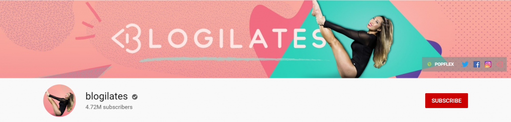 blogilates - YouTube