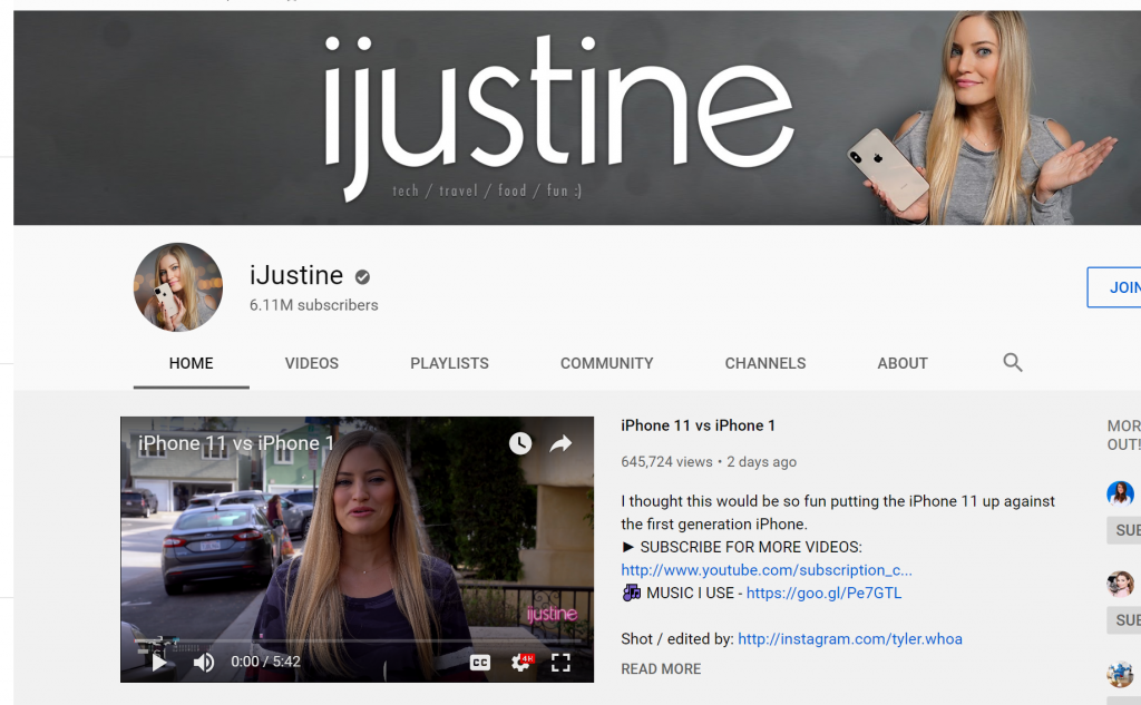 iJustine - YouTube