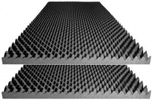 Foamily Acoustic Foam Egg Crate Panel Studio Foam Wall Panel 48